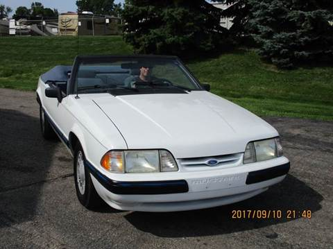 1990 Ford Mustang for sale in Clinton Township, MI