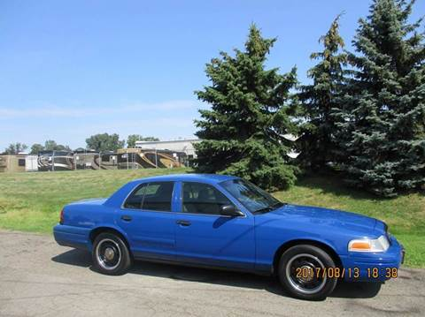 2008 Ford Crown Victoria for sale in Clinton Township, MI