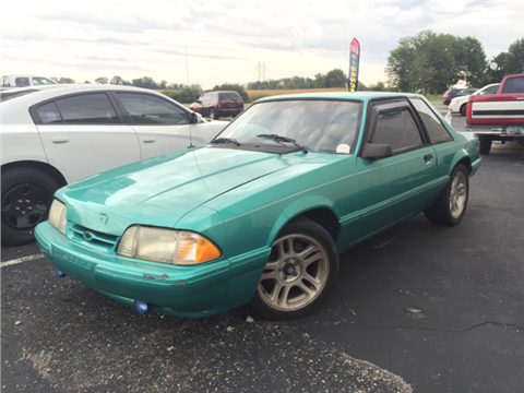 1992 ford mustang for sale for Crider motors mishawaka in