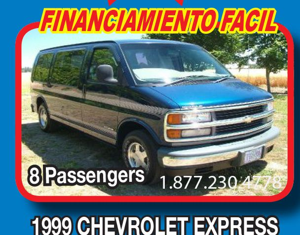 1999 Chevrolet Express for sale in WOODBURN OR