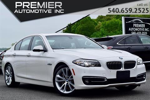 2016 BMW 5 Series for sale in Dumfries, VA