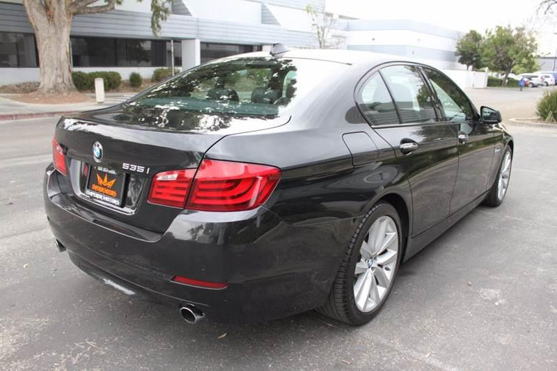 2012 BMW 5 Series 535i 4dr Sedan - Fremont CA