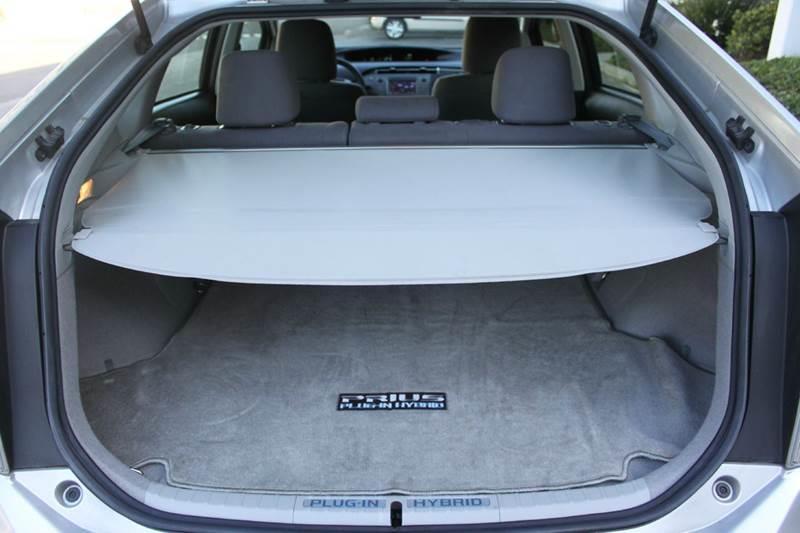 2012 Toyota Prius Plug-in Hybrid Advanced 4dr Hatchback - Fremont CA