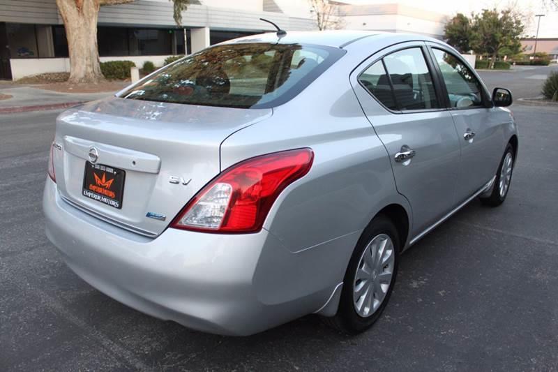 2012 Nissan Versa 1.6 SV 4dr Sedan - Fremont CA