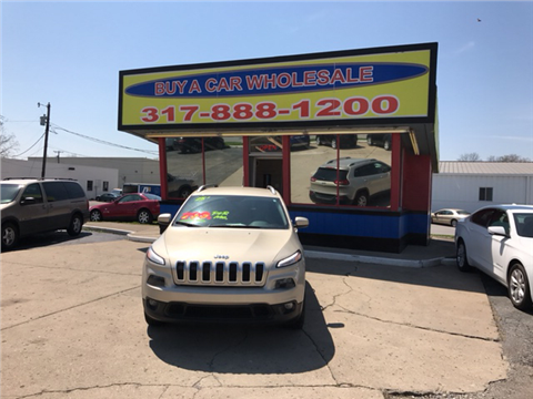 2015 Jeep Cherokee for sale in Greenwood, IN