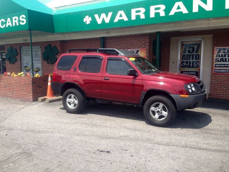 2004 nissan xterra xe 4wd 4dr suv v6 in virginia beach. Black Bedroom Furniture Sets. Home Design Ideas