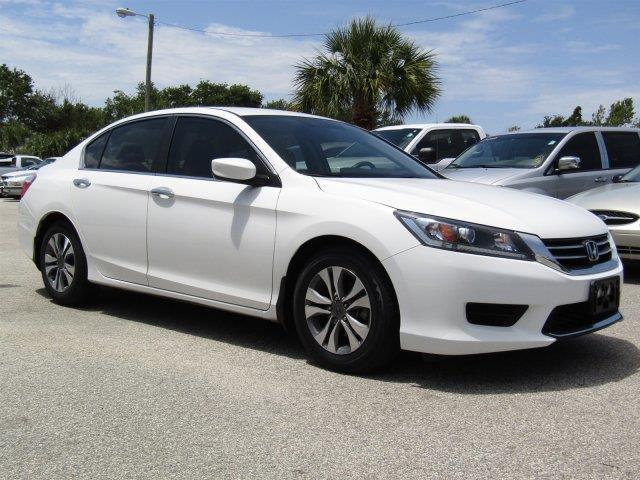 2013 honda accord lx 4dr sedan cvt in melbourne fl fleet for Honda accord cvt lx
