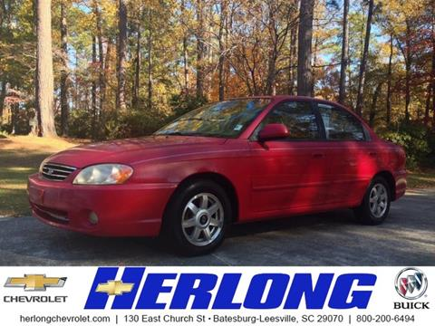 2002 Kia Spectra for sale in Johnston, SC