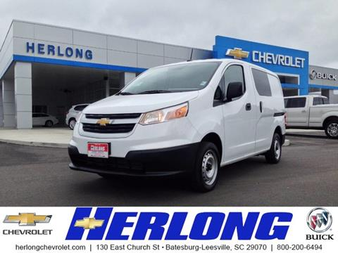 2017 Chevrolet City Express Cargo for sale in Johnston SC