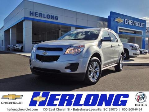 2015 Chevrolet Equinox for sale in Johnston, SC