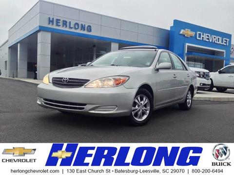2004 Toyota Camry for sale in Johnston SC