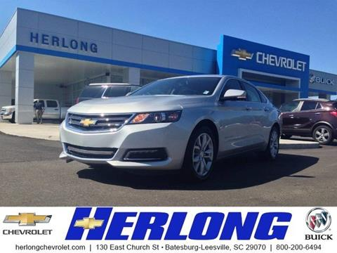 2018 Chevrolet Impala for sale in Johnston SC