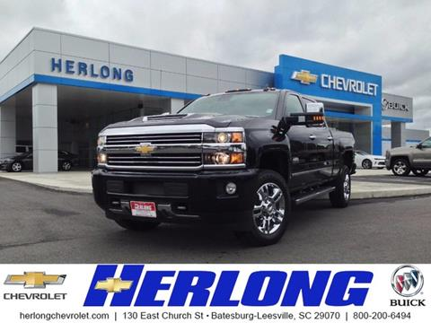 2017 Chevrolet Silverado 2500HD for sale in Johnston, SC