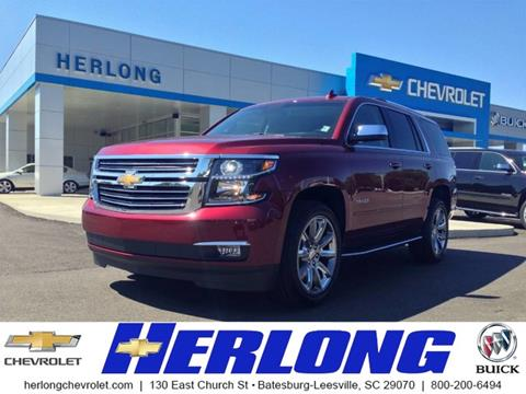 2017 Chevrolet Tahoe for sale in Johnston, SC