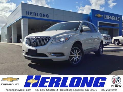 2014 Buick Enclave for sale in Johnston, SC