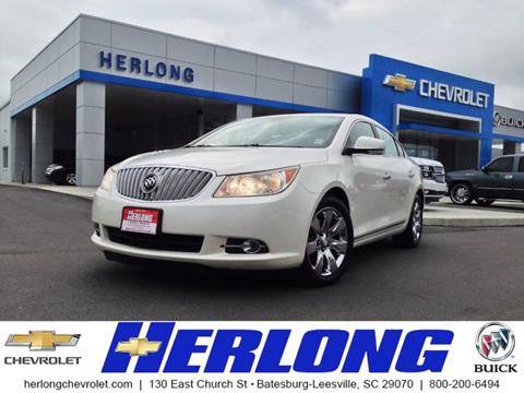 2011 Buick LaCrosse for sale in Johnston, SC