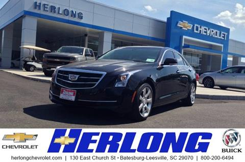 2016 Cadillac ATS for sale in Johnston, SC