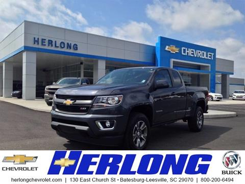 2017 Chevrolet Colorado for sale in Johnston, SC