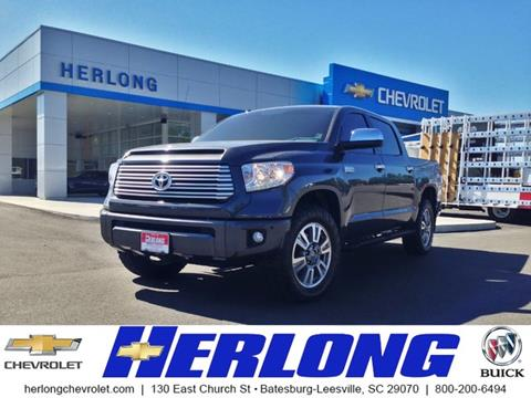 2017 Toyota Tundra for sale in Johnston, SC