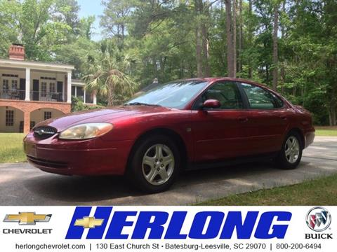 2001 Ford Taurus for sale in Johnston, SC