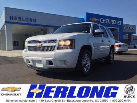 2009 Chevrolet Tahoe for sale in Johnston SC