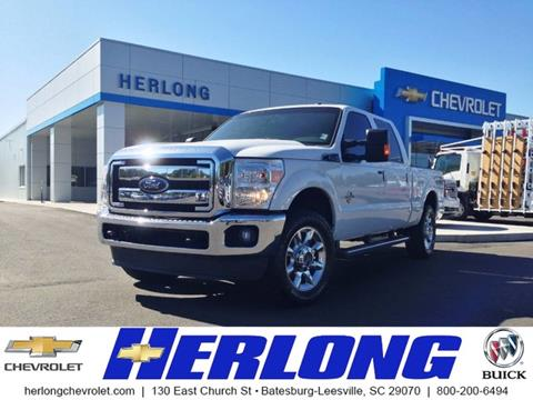 2015 Ford F-250 Super Duty for sale in Johnston SC