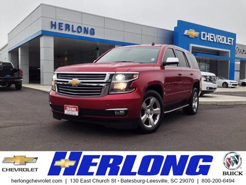 2015 Chevrolet Tahoe for sale in Johnston, SC