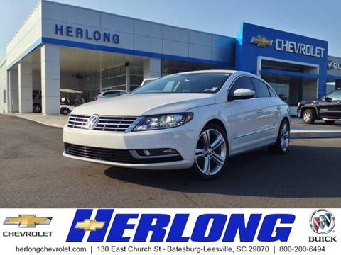 2013 Volkswagen CC for sale in Johnston SC