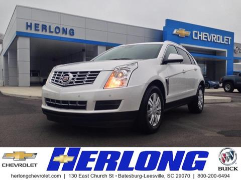 2016 Cadillac SRX for sale in Johnston, SC