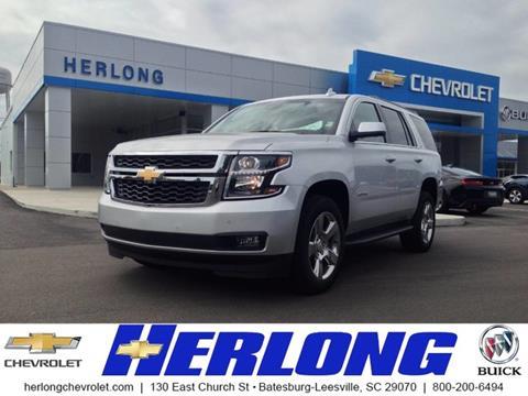 2017 Chevrolet Tahoe for sale in Johnston SC