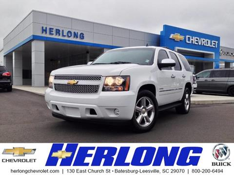 2013 Chevrolet Tahoe for sale in Johnston, SC