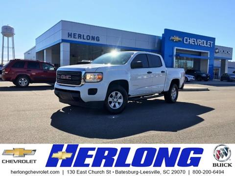 2015 GMC Canyon for sale in Johnston, SC