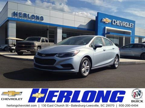2017 Chevrolet Cruze for sale in Johnston, SC