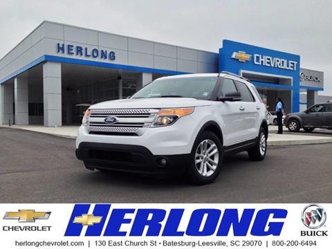 2014 Ford Explorer for sale in Johnston, SC