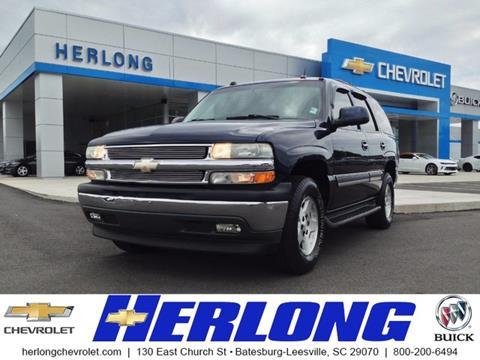 2005 Chevrolet Tahoe for sale in Johnston, SC