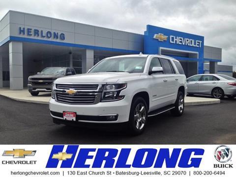 2016 Chevrolet Tahoe for sale in Johnston SC