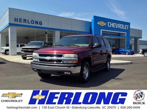 2003 Chevrolet Tahoe for sale in Johnston, SC