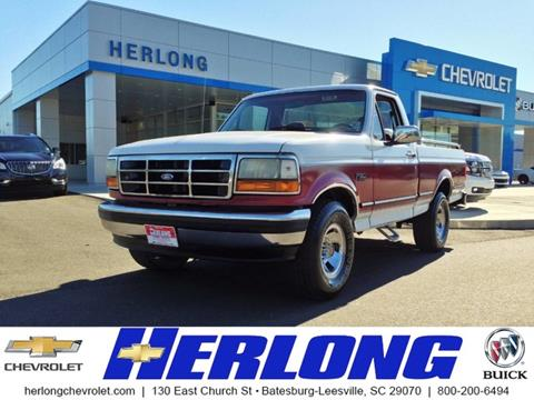 1994 Ford F-150 for sale in Johnston SC