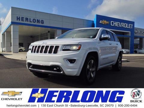 2014 Jeep Grand Cherokee for sale in Johnston SC
