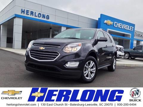 2016 Chevrolet Equinox for sale in Johnston, SC
