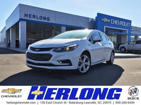 2017 Chevrolet Cruze for sale in Johnston, SC