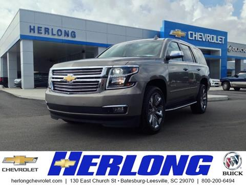 2017 Chevrolet Tahoe for sale in Johnston SC