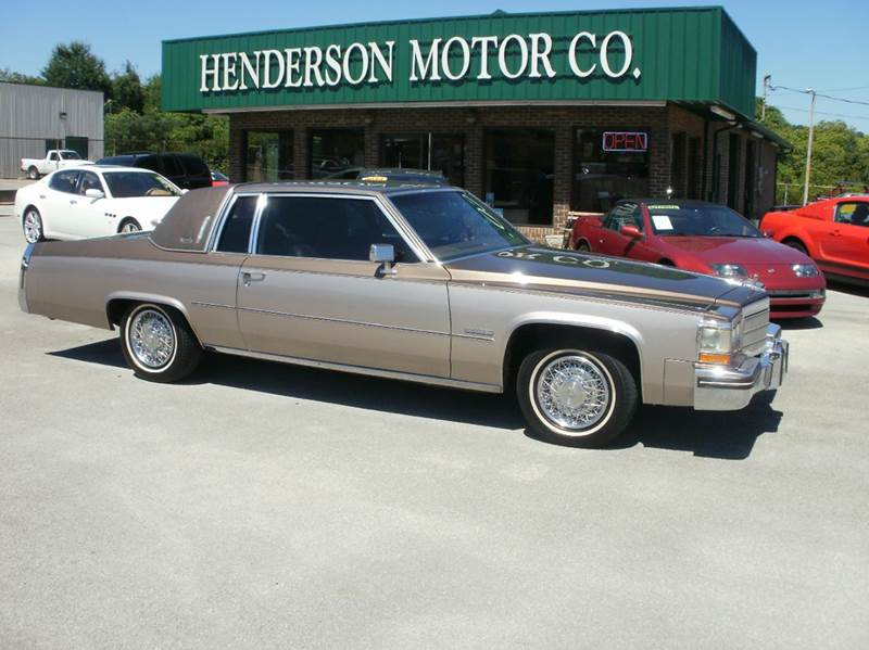 1982 Cadillac Deville Base 2dr Coupe In Morristown Tn