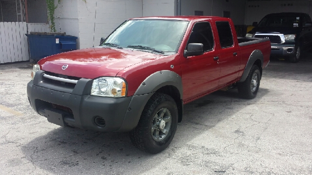 2003 NISSAN FRONTIER XE-V6 4DR CREW CAB RWD LB red clean title