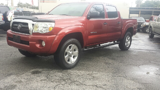 2006 TOYOTA TACOMA PRERUNNER V6 4DR DOUBLE CAB SB  red clean title