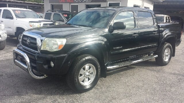 2005 TOYOTA TACOMA PRERUNNER V6 4DR DOUBLE CAB RWD black clean title