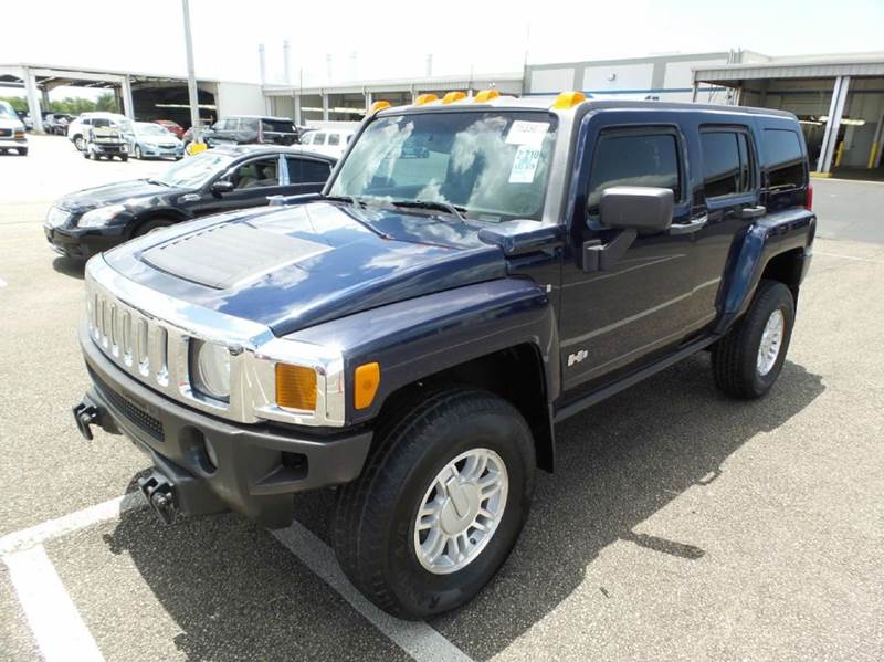 2007 HUMMER H3 LUXURY 4DR SUV 4WD blue clean title