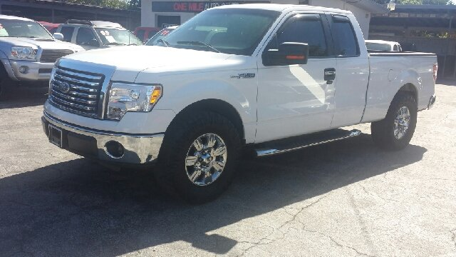 2010 FORD F-150 XLT 4X2 4DR SUPERCAB STYLESIDE 6 white 2-stage unlocking doors abs - 4-wheel ai