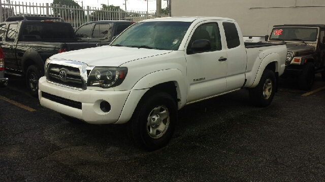 2009 TOYOTA TACOMA V6 4X4 4DR ACCESS CAB 61 FT SB white clean title