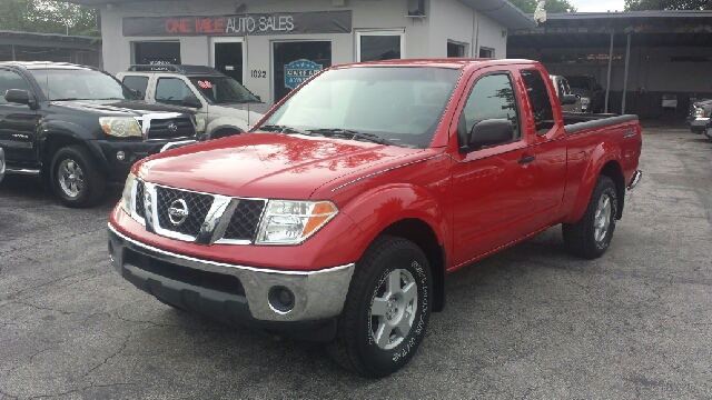 2006 NISSAN FRONTIER NISMO 4DR KING CAB 4WD SB 4L V6 red clean title